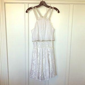 NWT Rebecca Taylor white summer dress